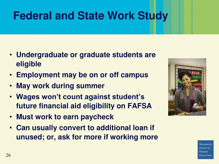 Federal and State Work Study