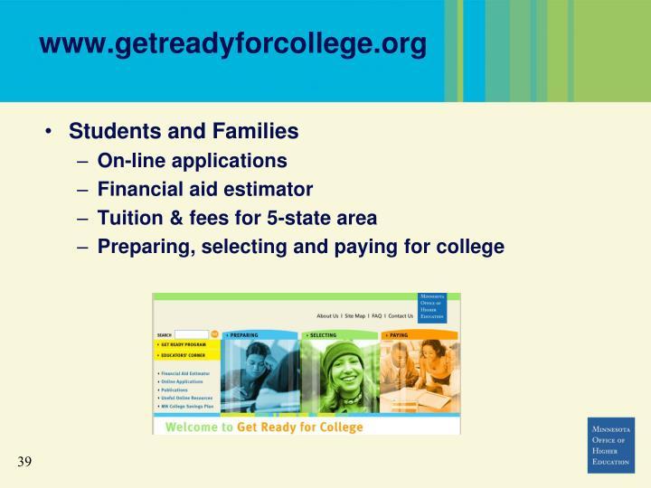 www.getreadyforcollege.org