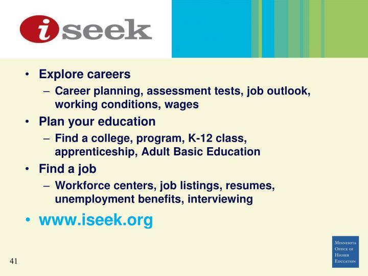 www.iseek.org