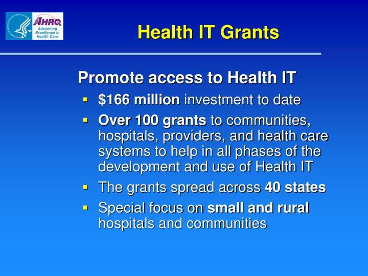 Health IT Grants