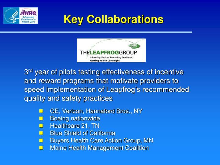 Key Collaborations