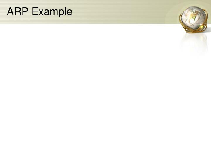 ARP Example