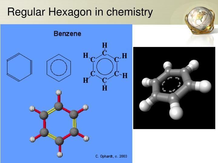 Regular Hexagon in chemistry