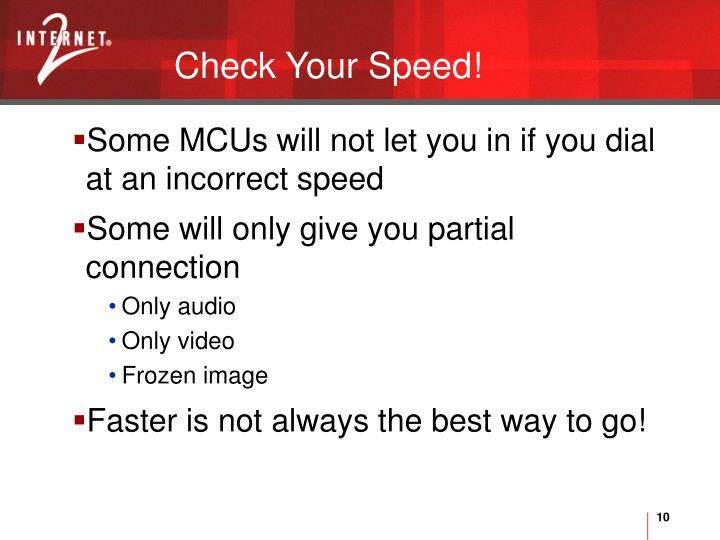 Check Your Speed!