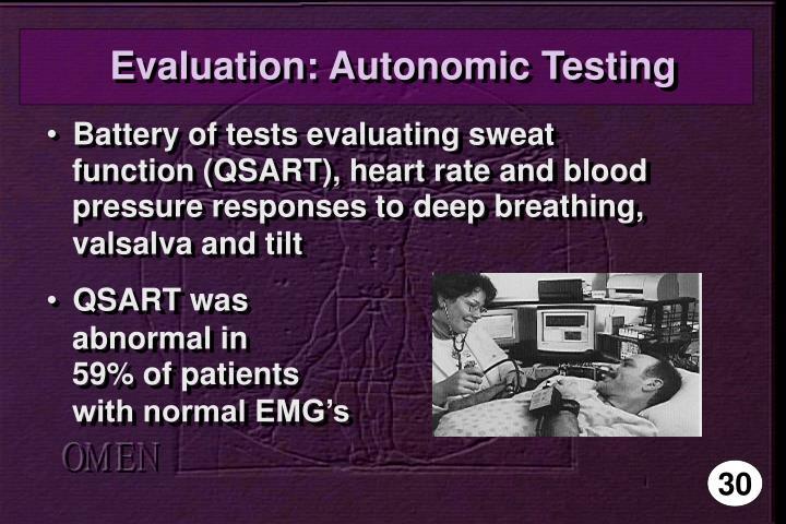 Evaluation: Autonomic Testing