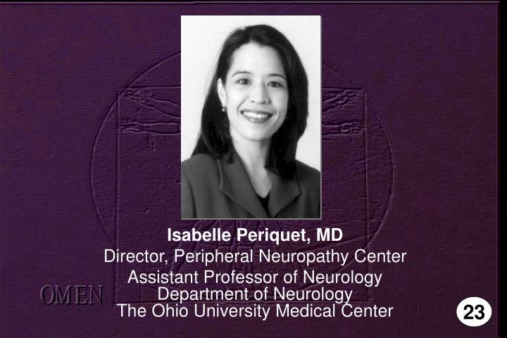 Isabelle Periquet, MD
