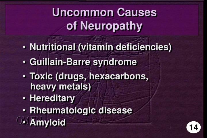 Uncommon Causes