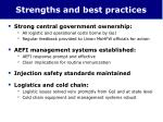 strengths and best practices