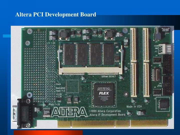 Altera PCI Development Board