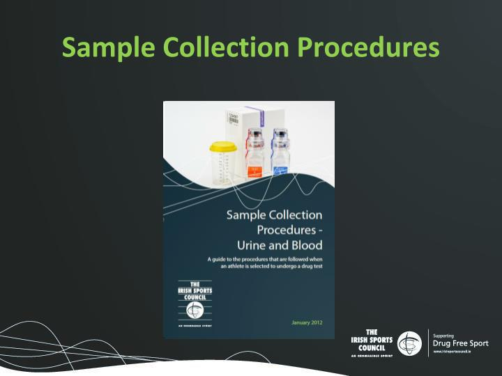 Sample Collection Procedures