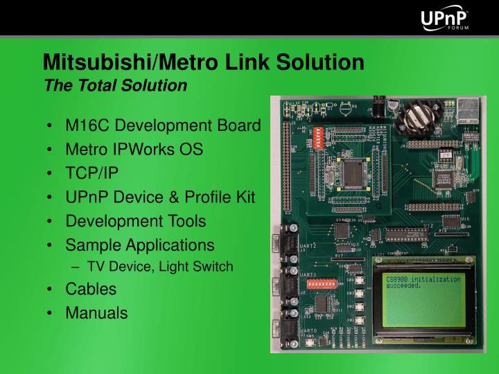 M16C Development Board