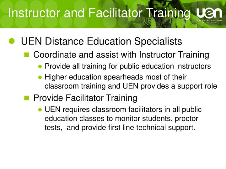 Instructor and Facilitator Training