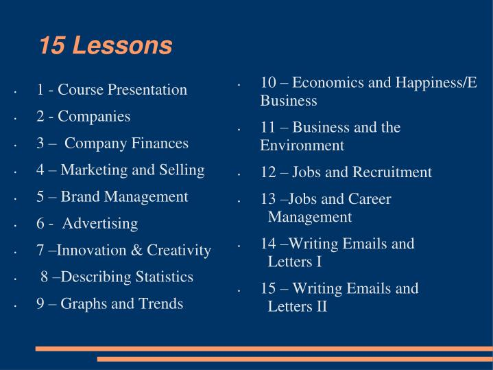 10 – Economics and Happiness/E Business