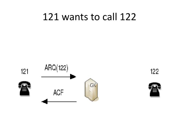 121 wants to call 122