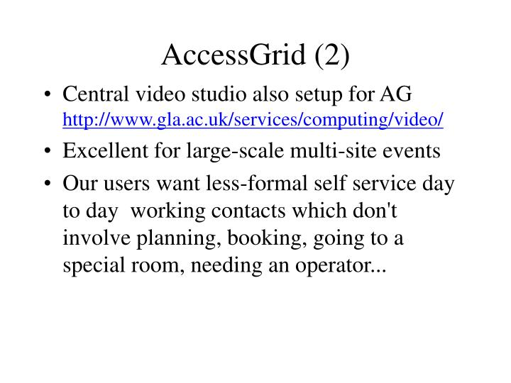 AccessGrid (2)