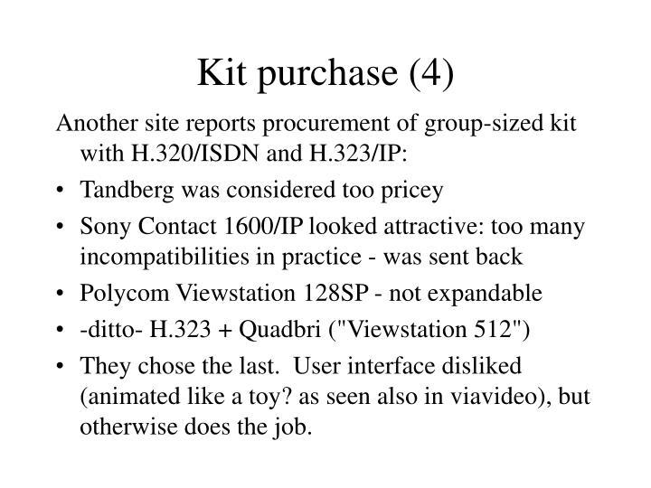 Kit purchase (4)