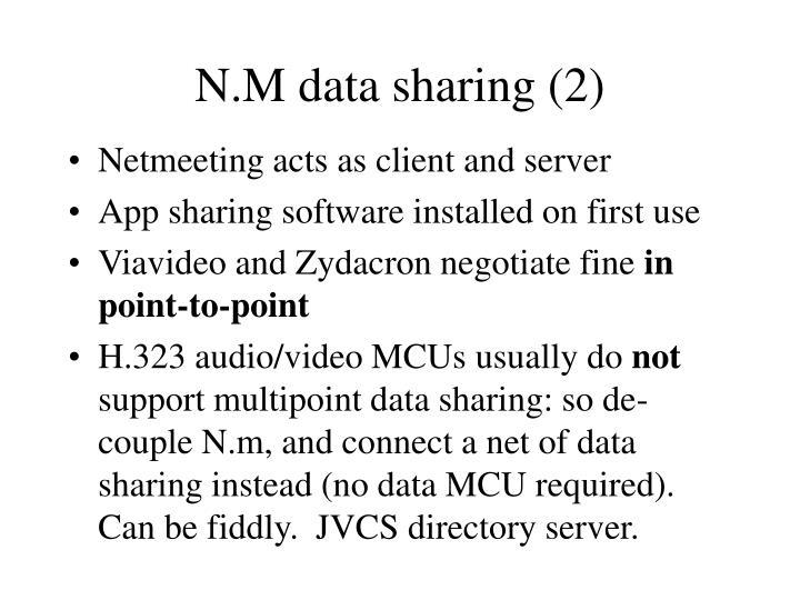 N.M data sharing (2)