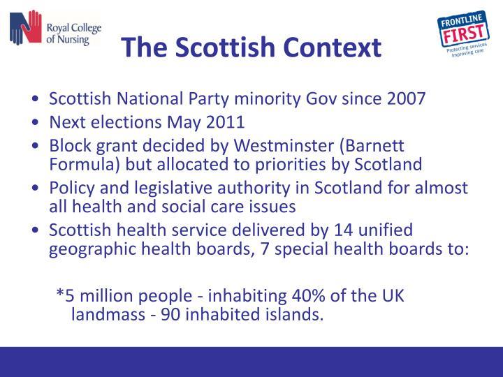 The Scottish Context