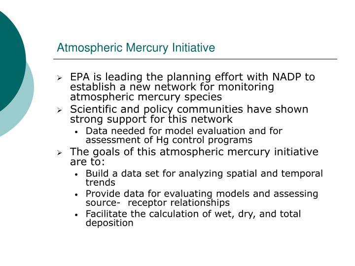 Atmospheric Mercury Initiative