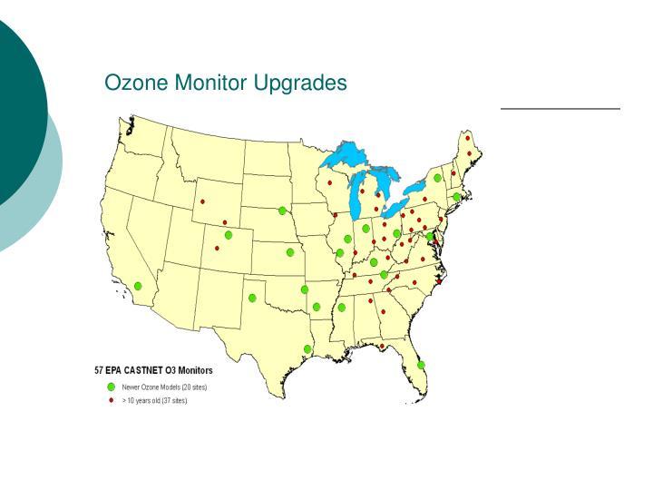 Ozone Monitor Upgrades