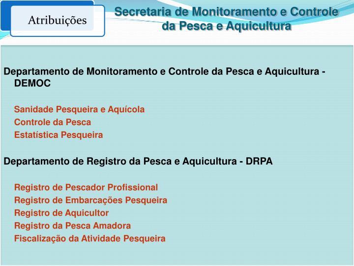 Secretaria de Monitoramento e Controle