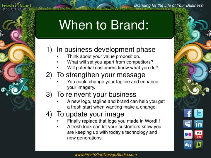 Branding for the Life of Your Business