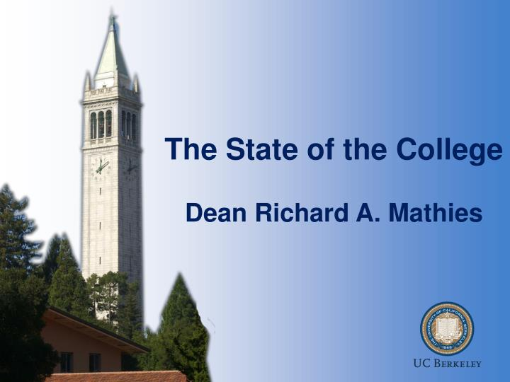 The State of the College