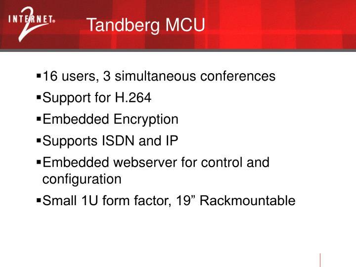 Tandberg MCU