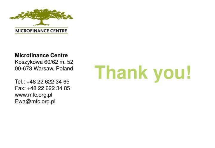 Microfinance Centre