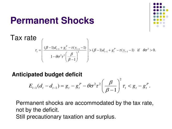 Permanent Shocks
