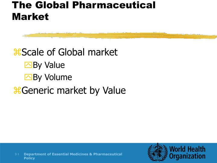 The Global Pharmaceutical Market