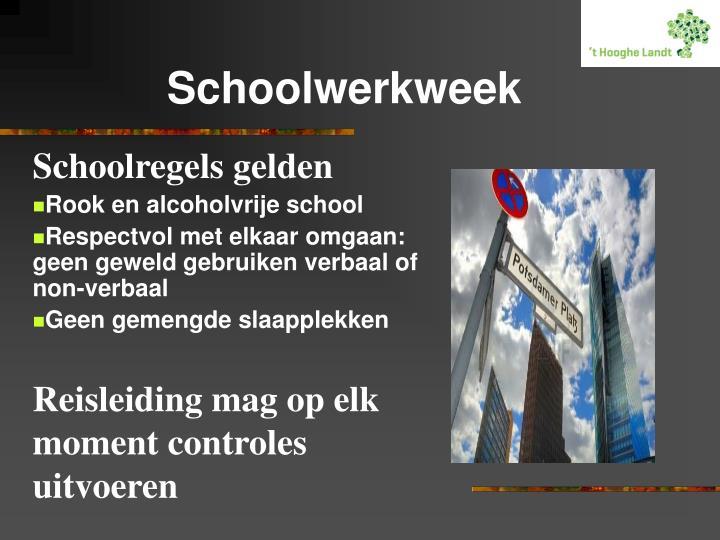 Schoolwerkweek