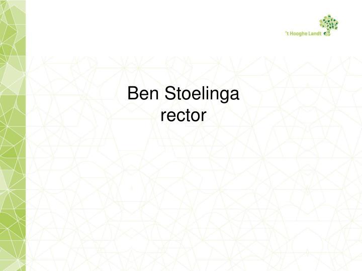 Ben Stoelinga