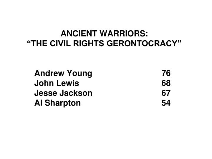 ANCIENT WARRIORS: