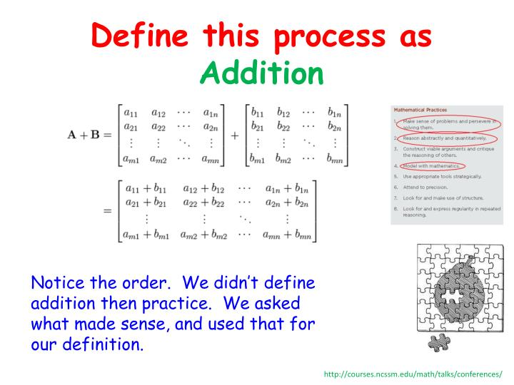 Define this process as