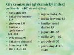 glykemizuj c glykemick index ze stratila abc zdrav v ivy