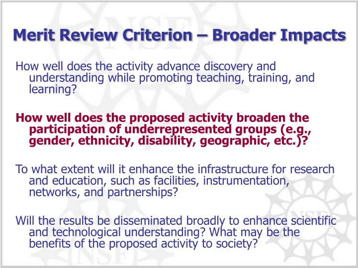 How well does the activity advance discovery and understanding while promoting teaching, training, and learning?
