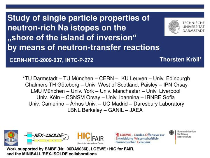 Study of single particle properties of neutron-rich Na istopes on the