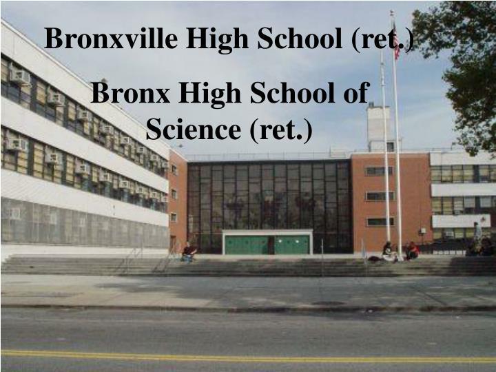 Bronxville High School (ret.)