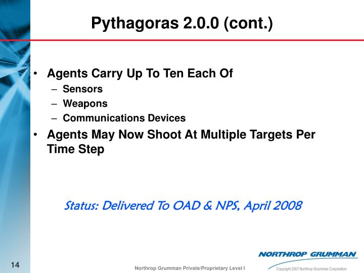 Agents Carry Up To Ten Each Of