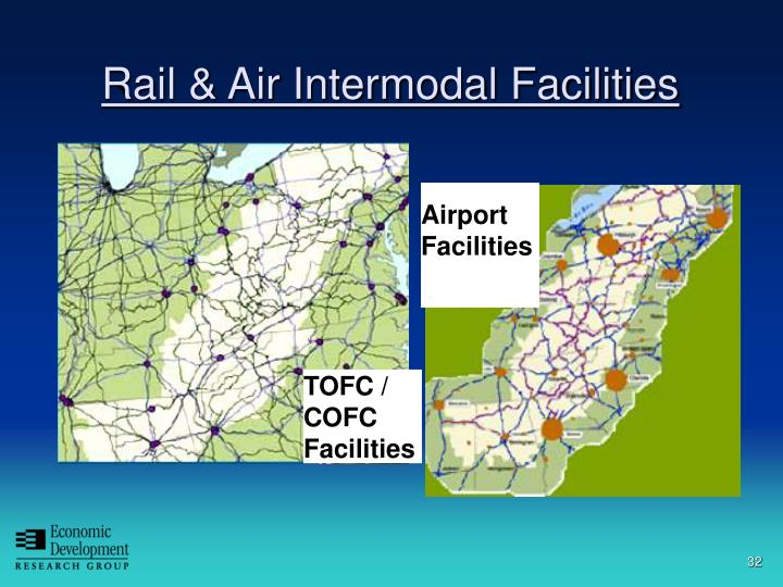 Rail & Air Intermodal Facilities