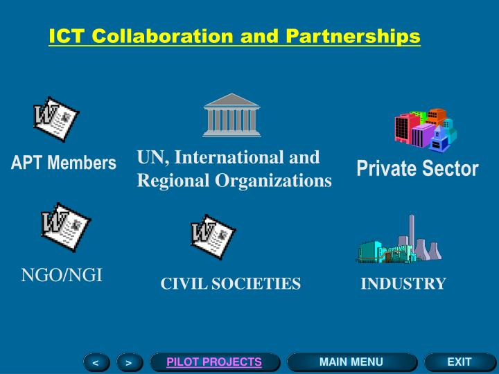 ICT Collaboration and Partnerships