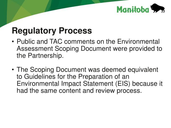 Regulatory Process