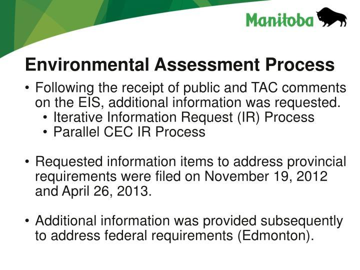 Environmental Assessment Process