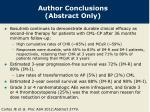 author conclusions abstract only