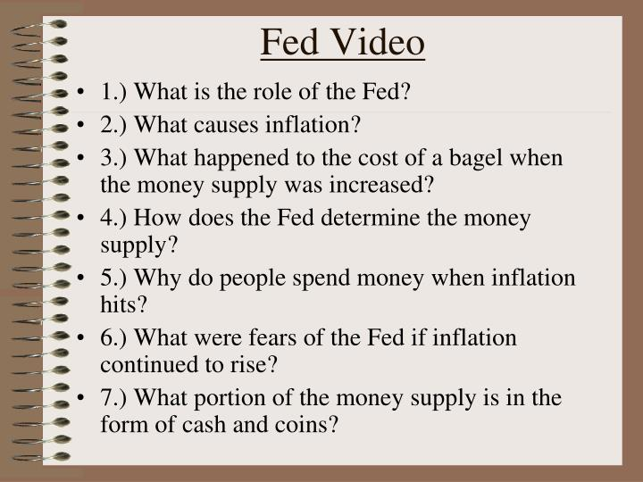 Fed video