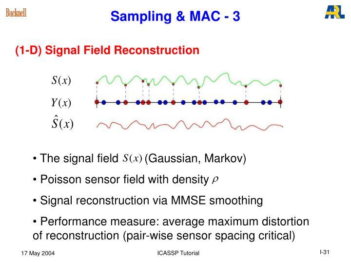 Sampling & MAC - 3