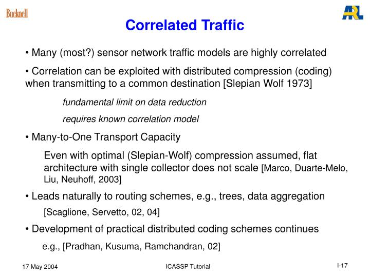 Correlated Traffic