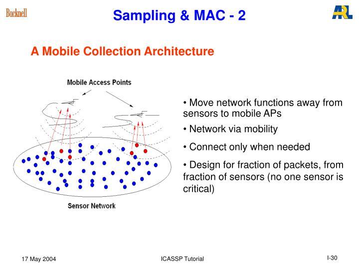 Sampling & MAC - 2