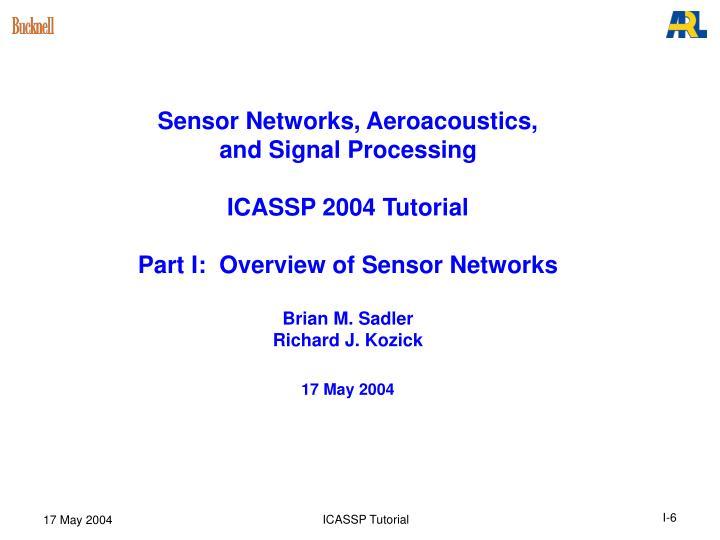 Sensor Networks, Aeroacoustics,